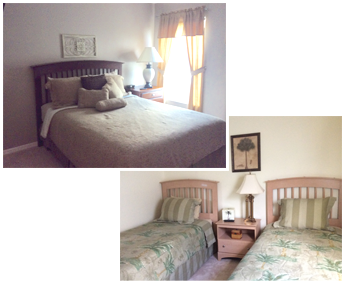 Queen Suite and Twin Beds